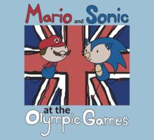 Mario and Sonic at the Olympic Games by Clara Dziemianko