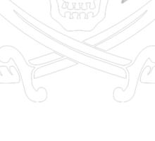 The internet - white Sticker