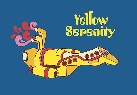 Yellow Serenity by KentZonestar