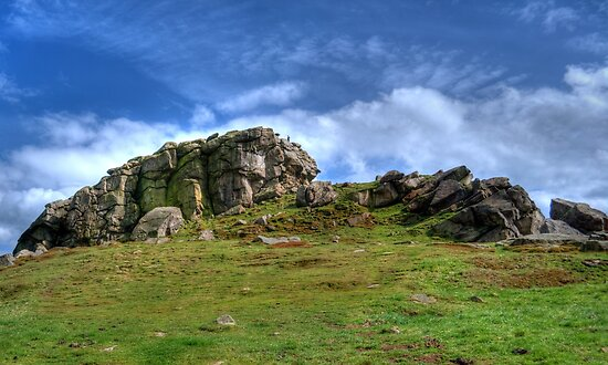 Almscliff Crag #1 by Colin Metcalf