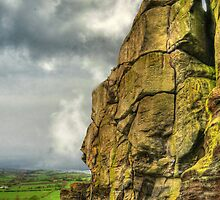 Almscliff Crag Profile #1 by Colin Metcalf