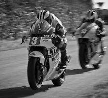 Micheal & William Dunlop @ Killalane Road Races by Nigel Bryan