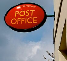 Alconbury Post Office Sign by Melodee Scofield