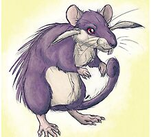 Pokémon to Realism - Rattata by SquishyMew
