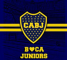 Boca Juniors IPhone Case by Havok15