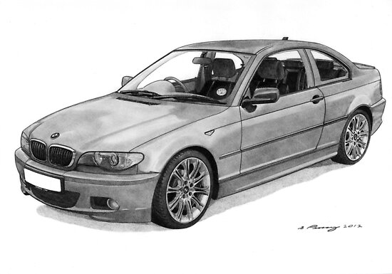 BMW 320 E46 Coupe by Steve Pearcy