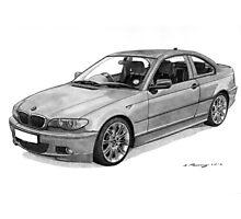 BMW 320 E46 Coupe Photographic Print