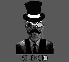 Silencio- phone case by HoppyNinja