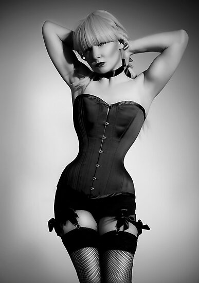 Long line corset by aka-photography