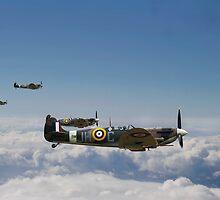 Spitfire - High Patrol by warbirds