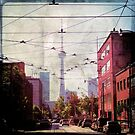 Grunge Toronto - CN Tower by thebrink