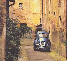 Alley Way by Sharon Poulton