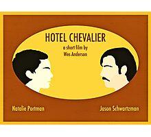 Hotel Chevalier Photographic Print