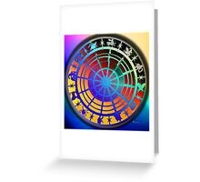 WHEEL OF WONDER Greeting Card
