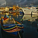 """HARBOUR OF COLOURS"" by RayFarrugia"