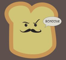 Bonjour French Toast Lover  Kids Clothes