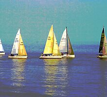 We Are Sailing by Beverley Barrett