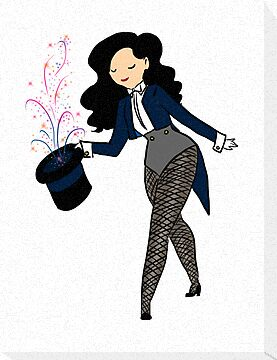 What time is it? Zatanna Time! by geekdonnatroy
