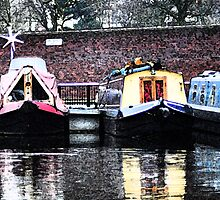 Canal Boats by Woolfe