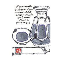 Condiments for Conversation (soy sauce 1) Photographic Print