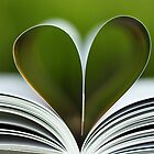 sustainable book heart by Gregoria  Gregoriou Crowe