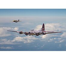 B17 - A Friend in Need Photographic Print