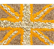 Curried Flag Photographic Print