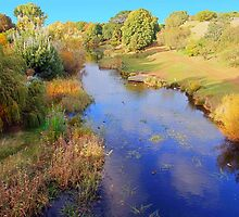Beautiful Tasmania - the river at Richmond by georgieboy98