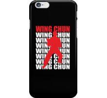 Wing Chun iPhone Case/Skin