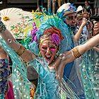 Many Faces Of The Coney Island Mermaid Parade -4 by Focusindigital