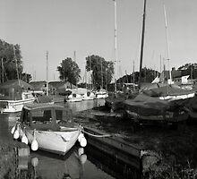Norfolk Broads Harbour by Richard Flint