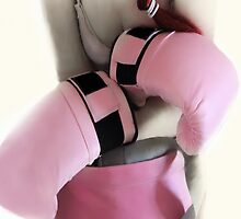 BOXER GIRL IN THE PINK  by scarletjames