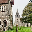 East Farleigh Church and School House by Dave Godden
