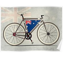 I love My Bike and Australia Poster