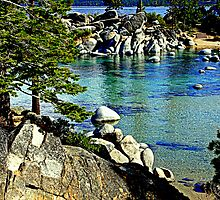 """Tahoe Shoreline"" by Lynn Bawden"