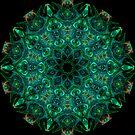 Green Jewel Kaleidoscope 01 by fantasytripp