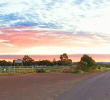 Quorn sunrise pano - Quorn, South Australia by PC1134