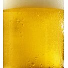 Cold Wet Beer Glass iPhone case by Jnhamilt