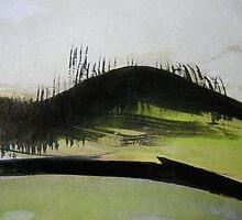 charred hill..... by banrai
