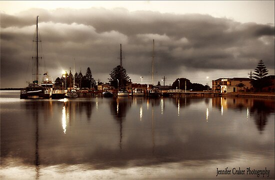 Port Albert Harbour at Dusk by Jennifer Craker