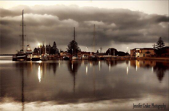 Port Albert Harbour at Dusk by Jennifer Craker