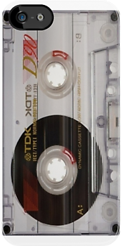 Retro TDK audio cassette tape iPhone 4/4s case by Jnhamilt
