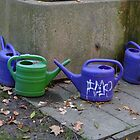 Watering cans by Anita Deppe