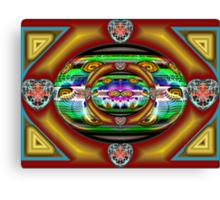 SMO #7: Combo Platter (UF0742) Canvas Print