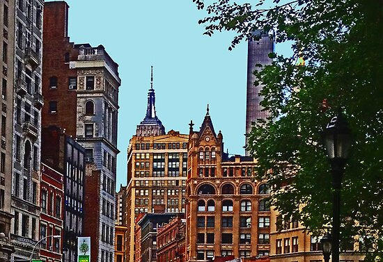 A view from Union Square - New York City by michael6076