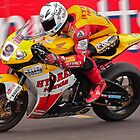 Motorbike racing .BSB   ( Guy Martin ) by Kit347