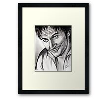 Richard Armitage, charming Lee Framed Print