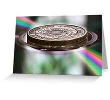 The Colour of Money Greeting Card