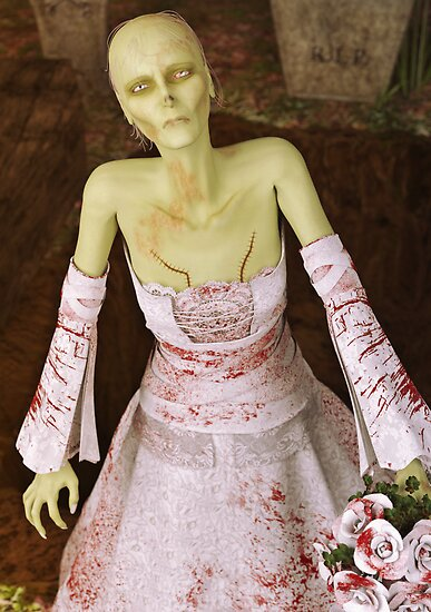 The Zombie Bride by Liam Liberty
