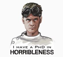 I have a PHD in HORRIBLENESS! by Jessica Feinberg